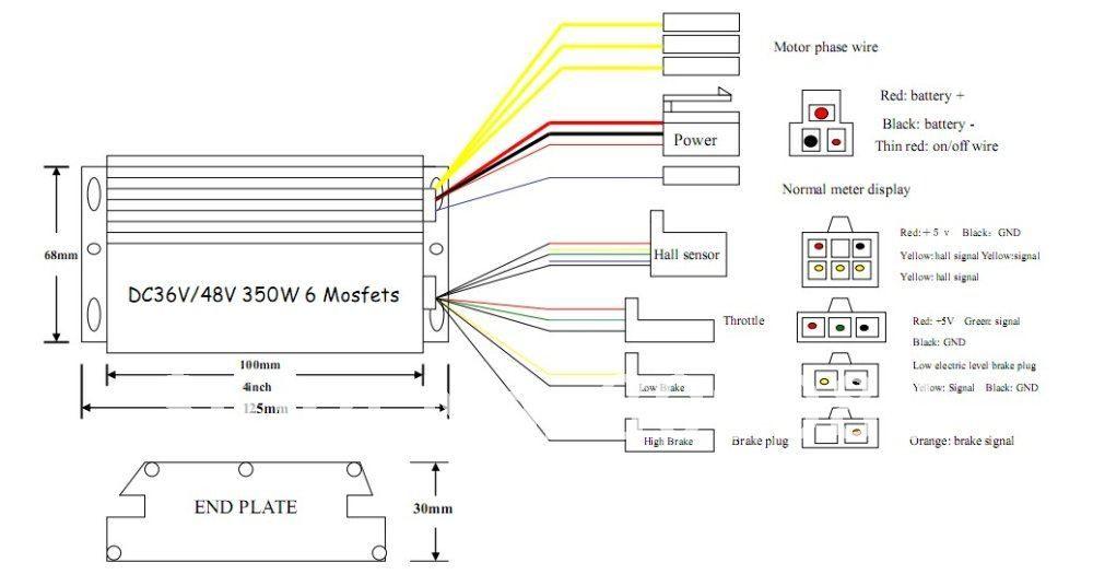 schema electrique gyropode