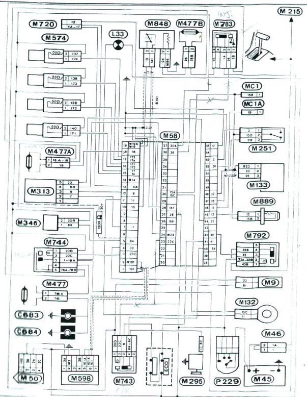 schema electrique c4 grand picasso