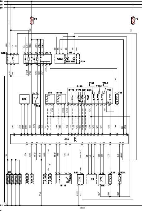 Schema electrique 406 2.2 hdi
