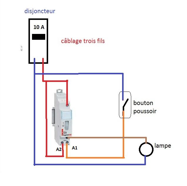 Schema electrique du telerupteur legrand