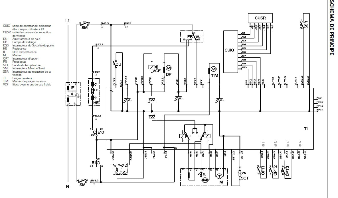 schema electrique ami8