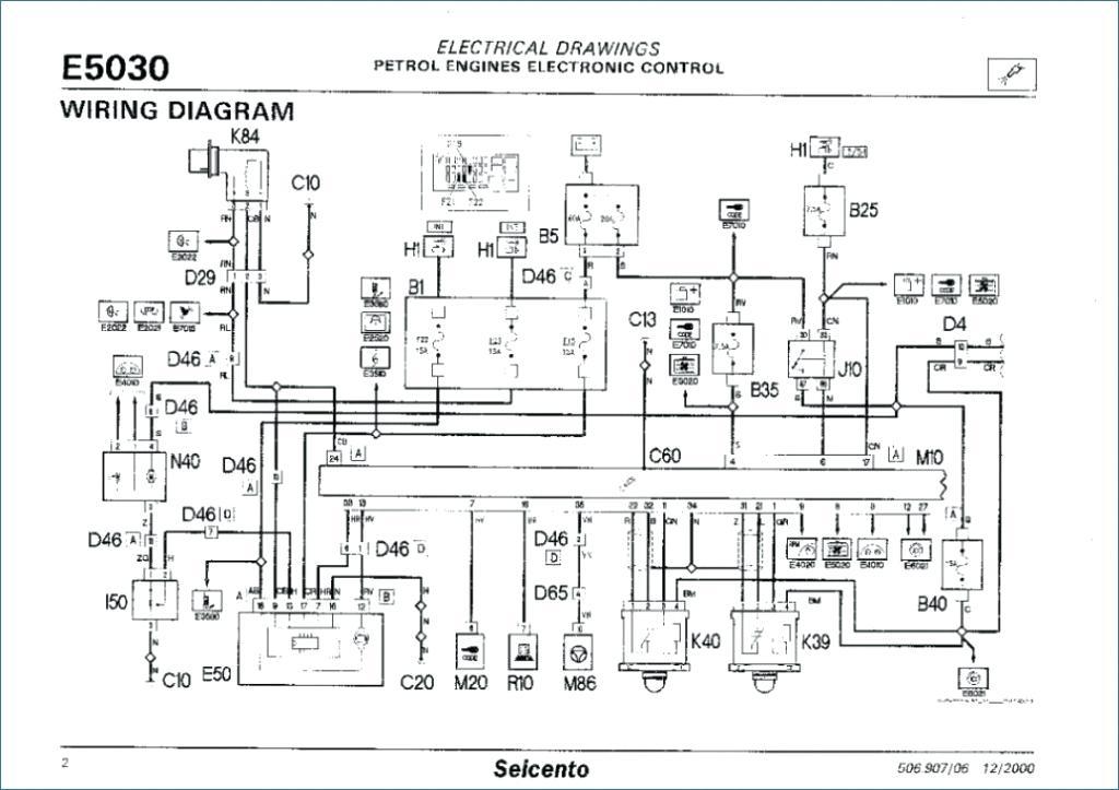 Schema Electrique Fiat Seicento