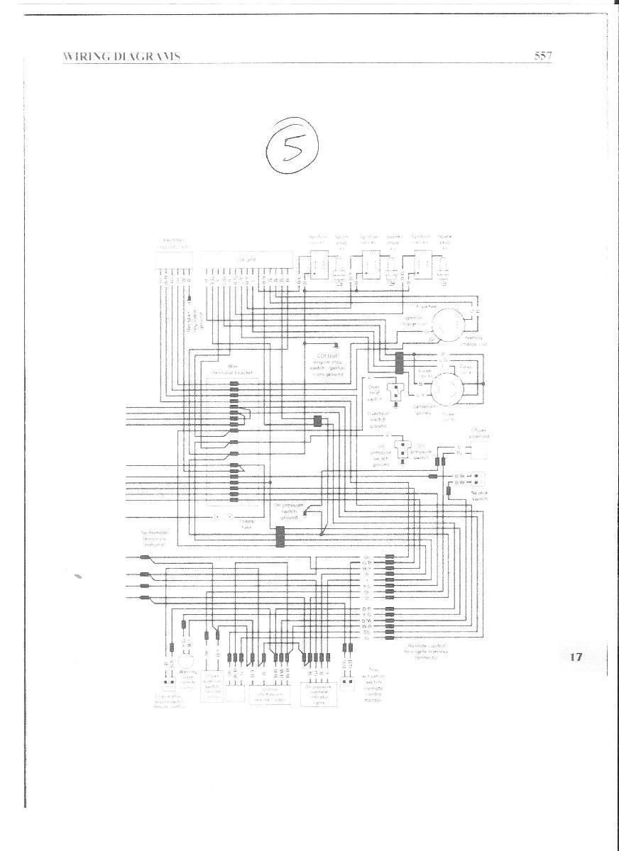 schema electrique moteur omc