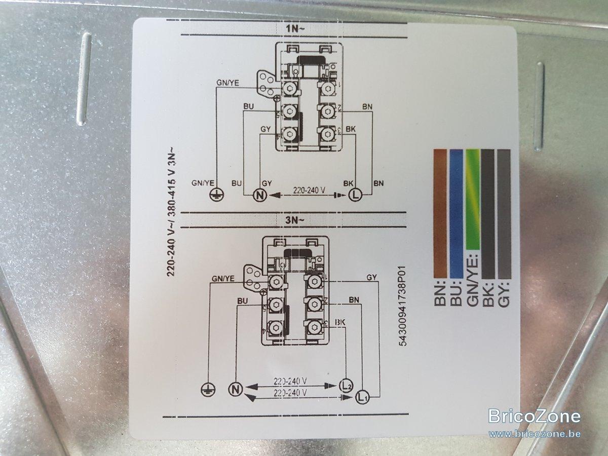 Schema electrique plaque induction siemens