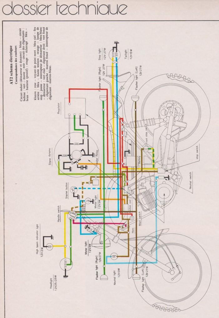 Schema electrique yamaha dt 50 2010