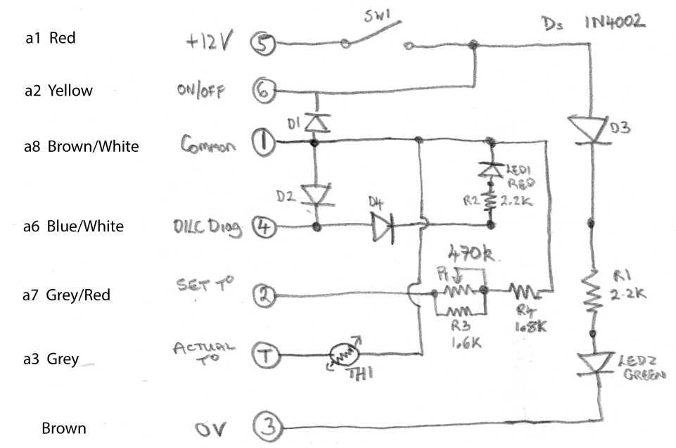 Schema Electrique Eberspacher Hydronic