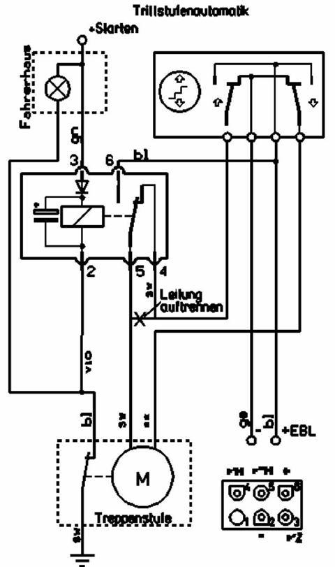 schema electrique anti demarrage twingo