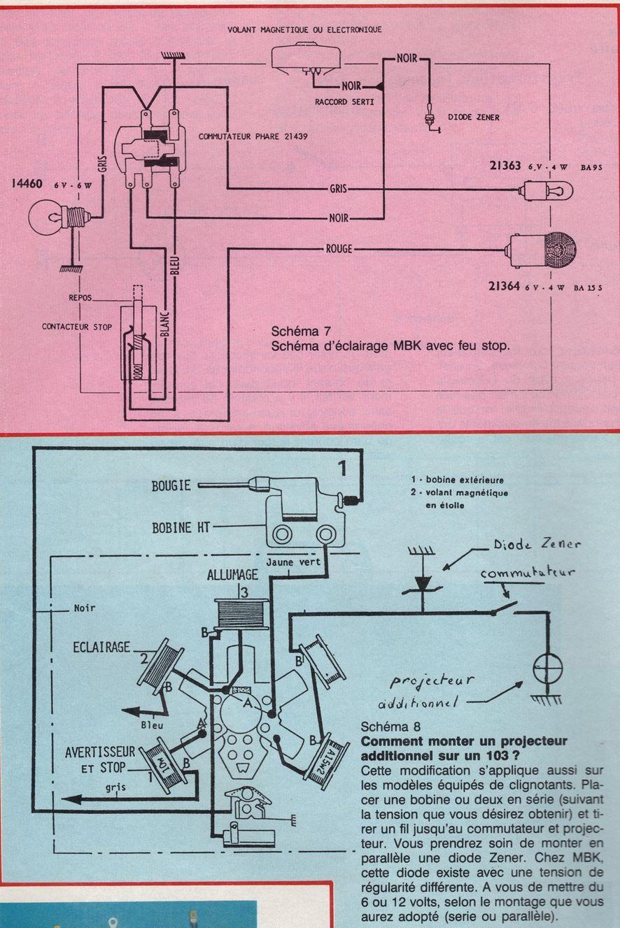 Schema electrique clignotant trafic 1