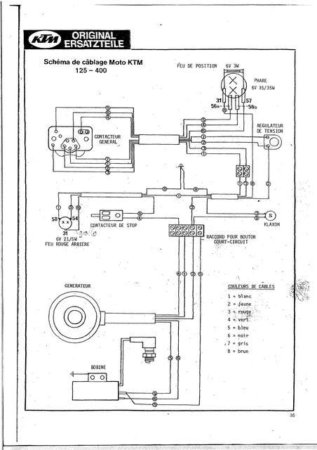 schema electrique ktm 125 exc