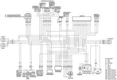 Schema electrique suzuki 400 drz