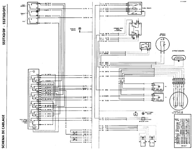 schema electrique micro onde brandt