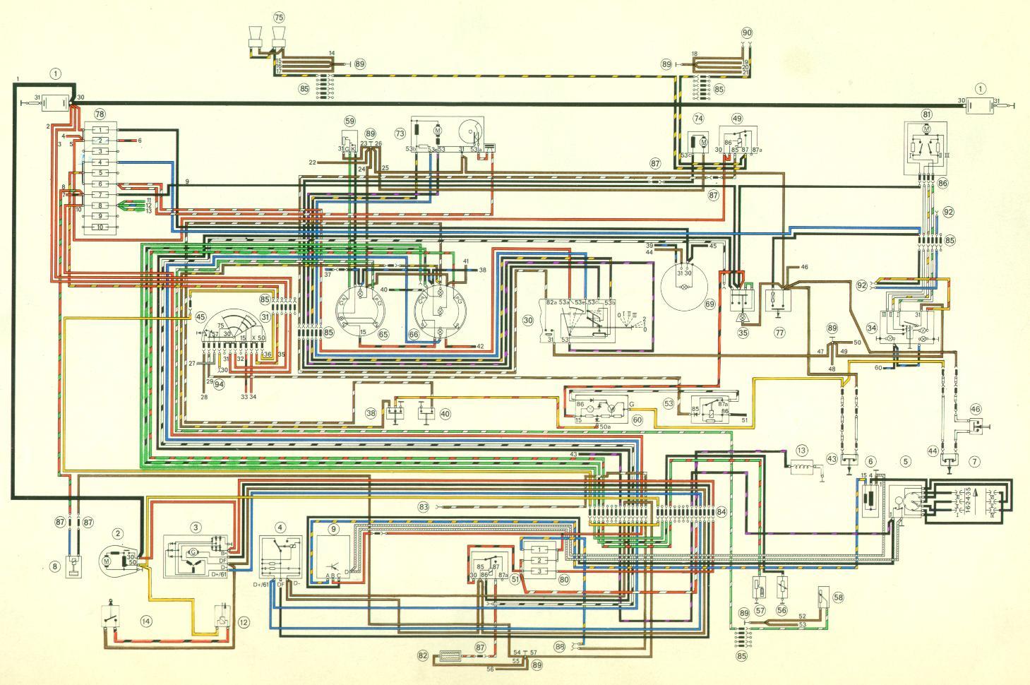 Schema electrique 911 sc