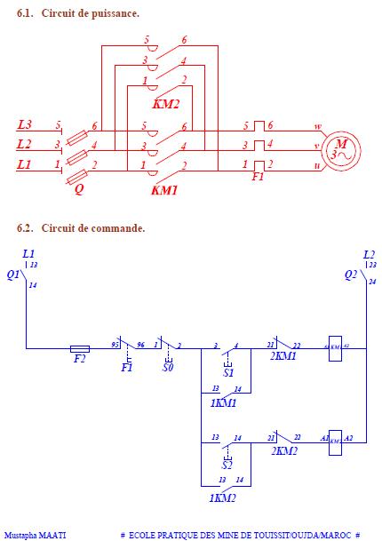 Cours lecture schema electrique industriel