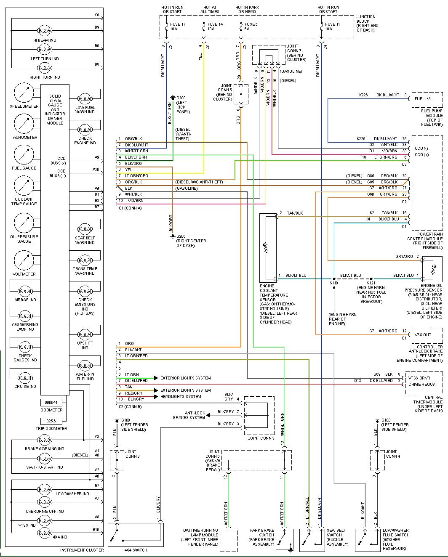Schema electrique 505 gti