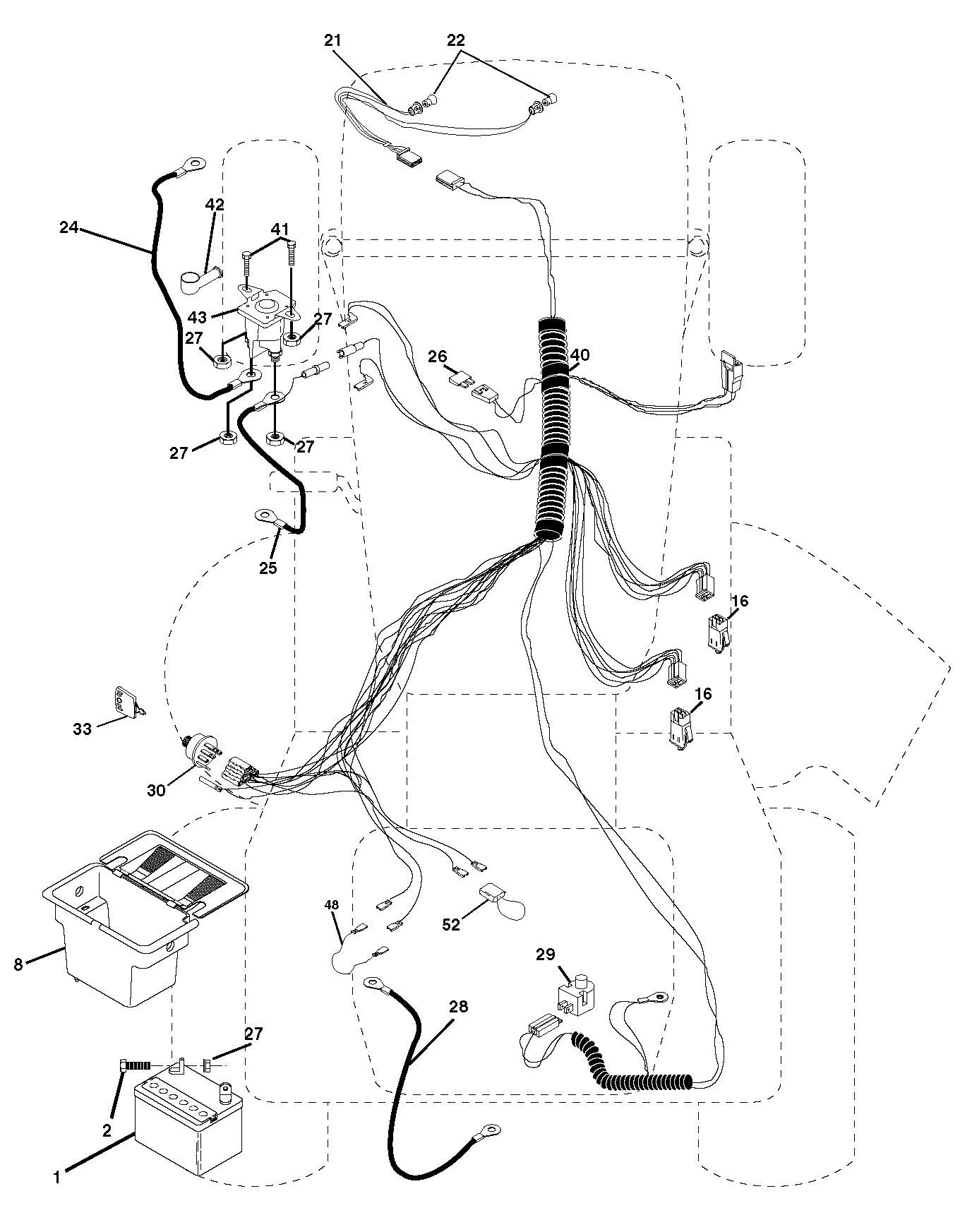schema electrique tracteur iseki