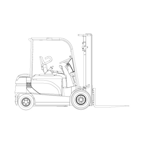 schema electrique chariot elevateur clark