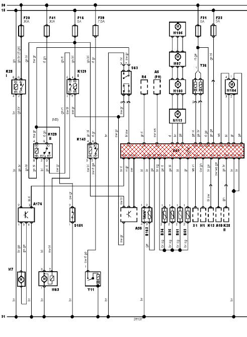 schema electrique de voiture