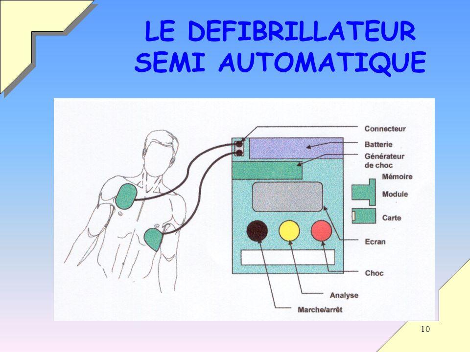 Défibrillateur schéma électrique