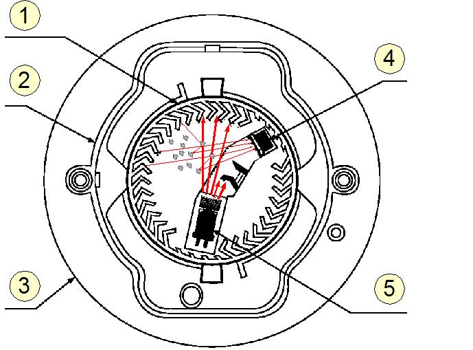 Détecteur de fumée schema electrique