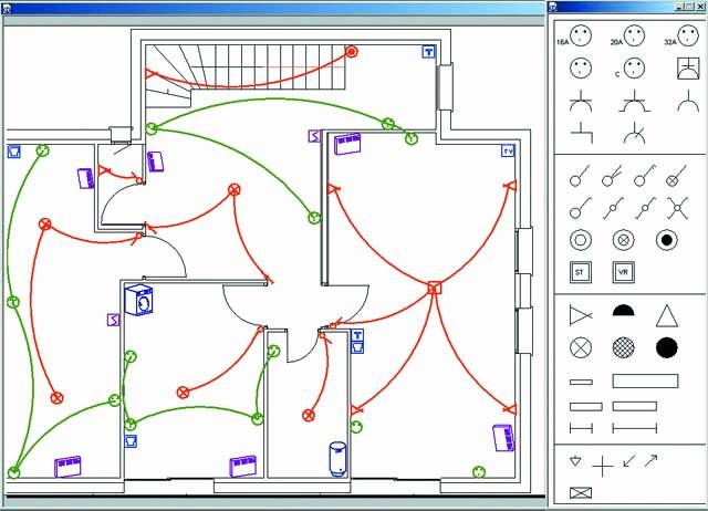 Logiciel schéma électrique simple