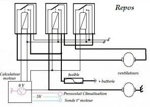 schema electrique mini pelle