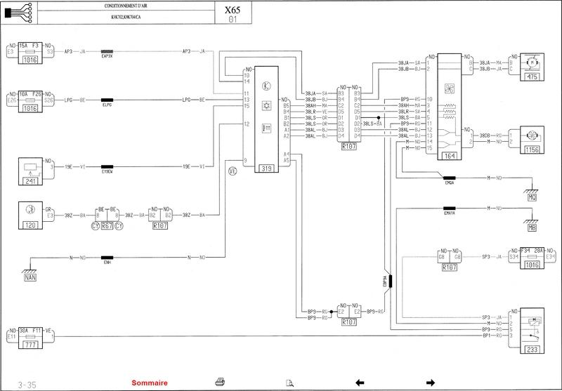 Schema Electrique Clim Megane 2