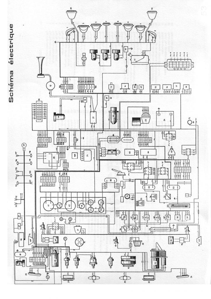schema electrique safrane v6