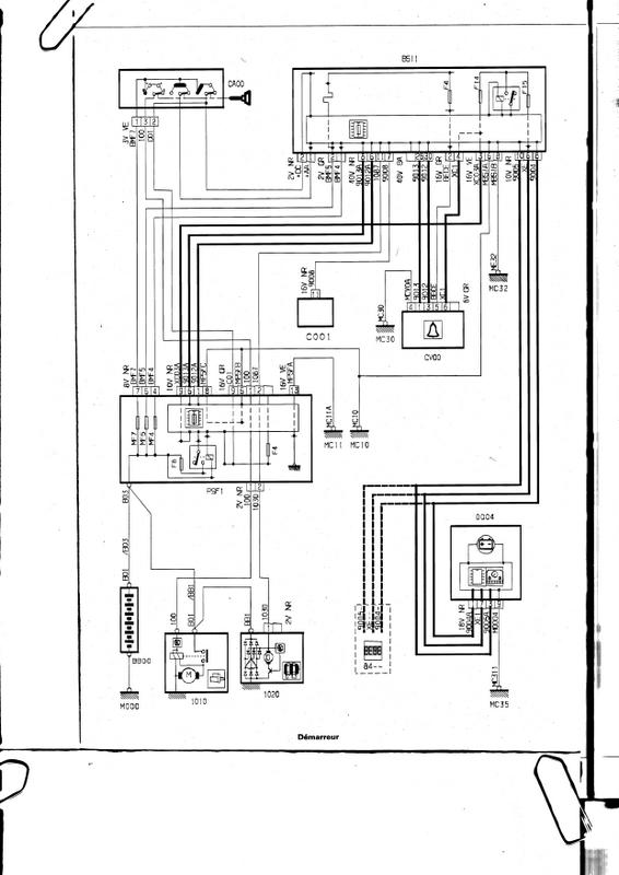Schema electrique citroen c1