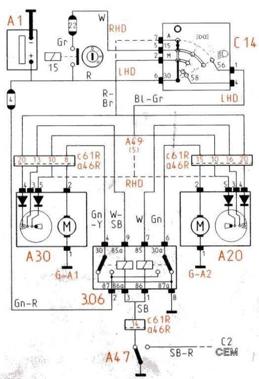 schema electrique camion volvo