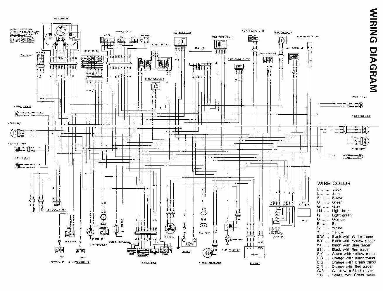 Schema Electrique Intruder 1400