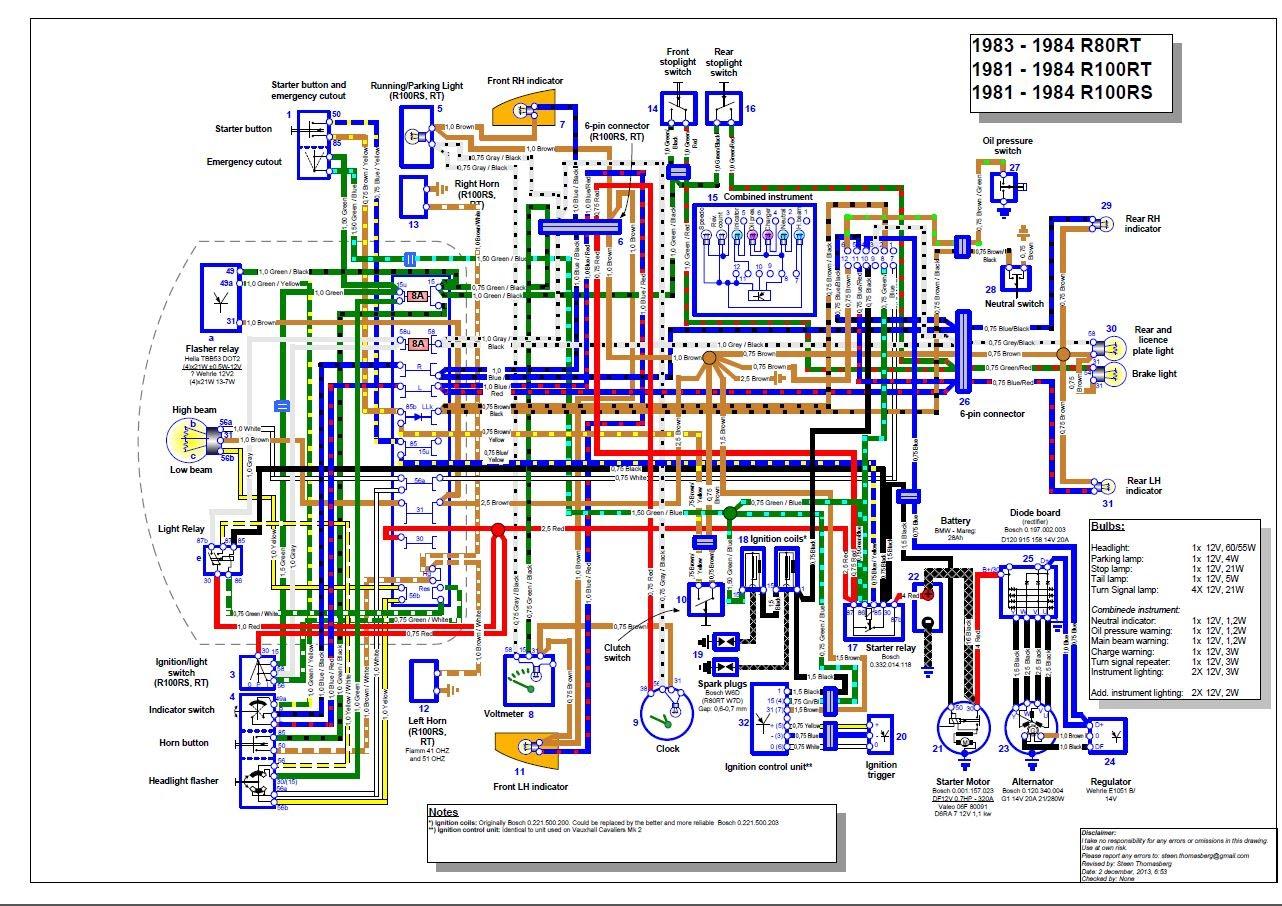 Schema Electrique Bmw R65