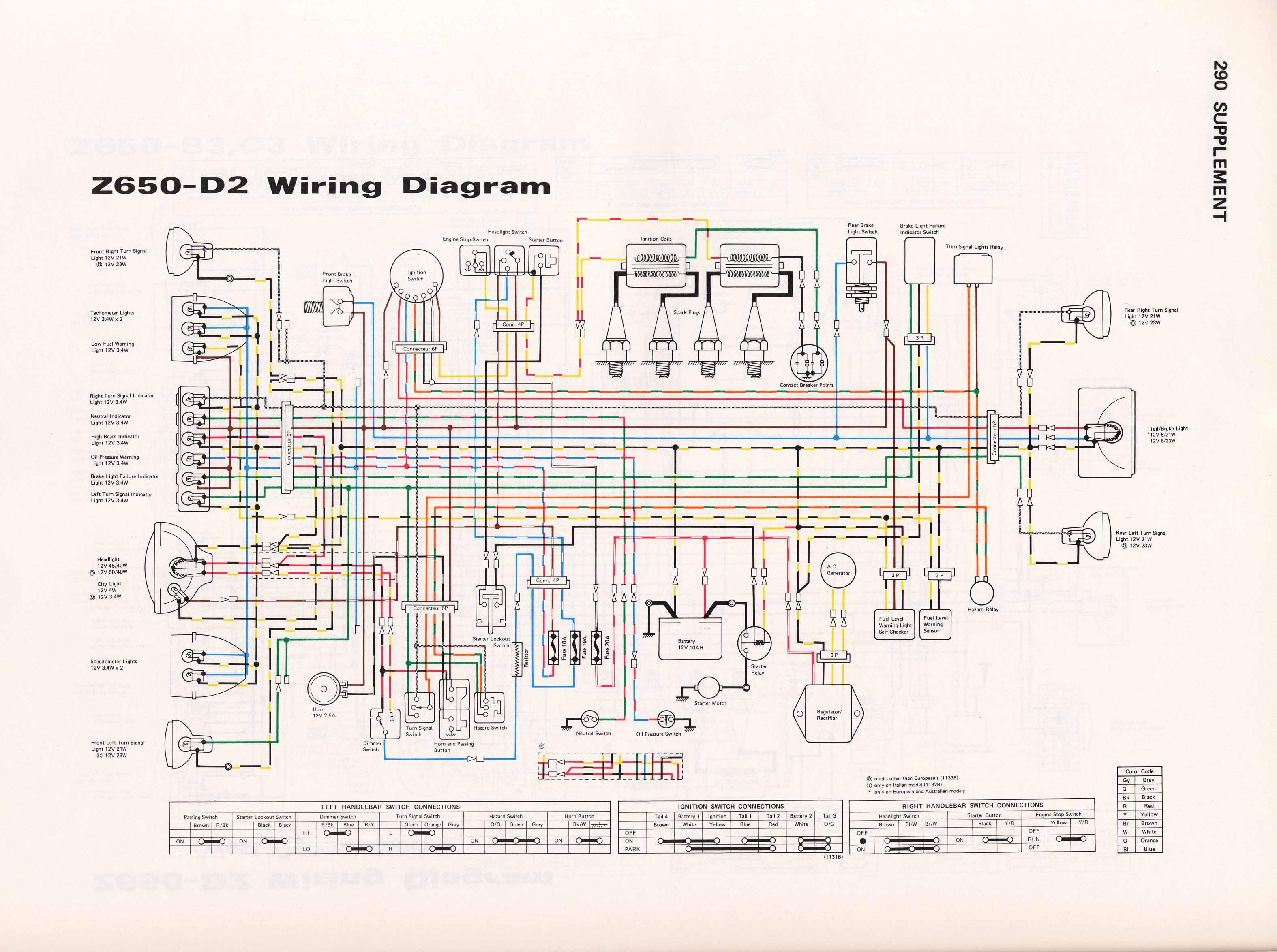Schéma électrique er6n