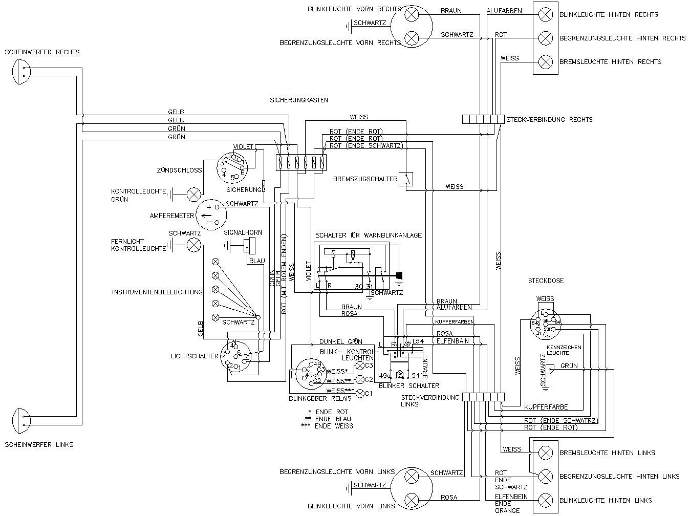 Schema Electrique Mf 135