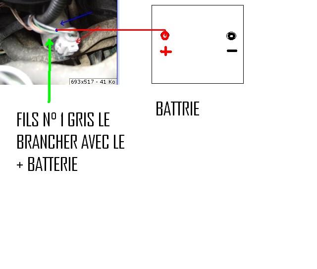 Schema electrique antidemarrage clio 2