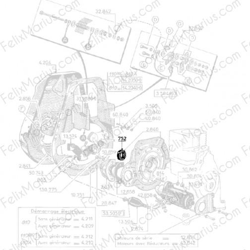 schema electrique moteur bernard w110