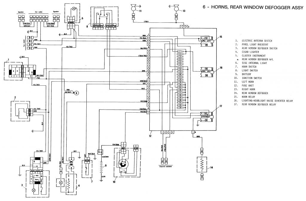 schema electrique autoradio fiat grande punto