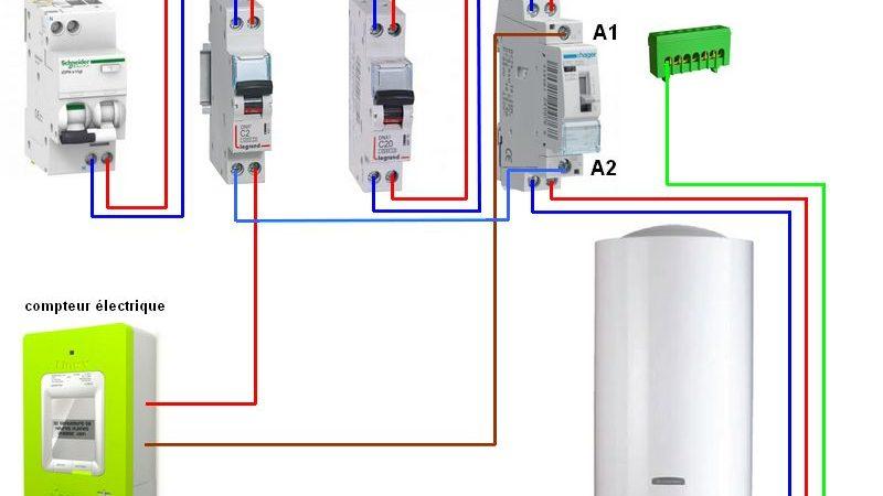 Schema electrique chauffe eau electrique