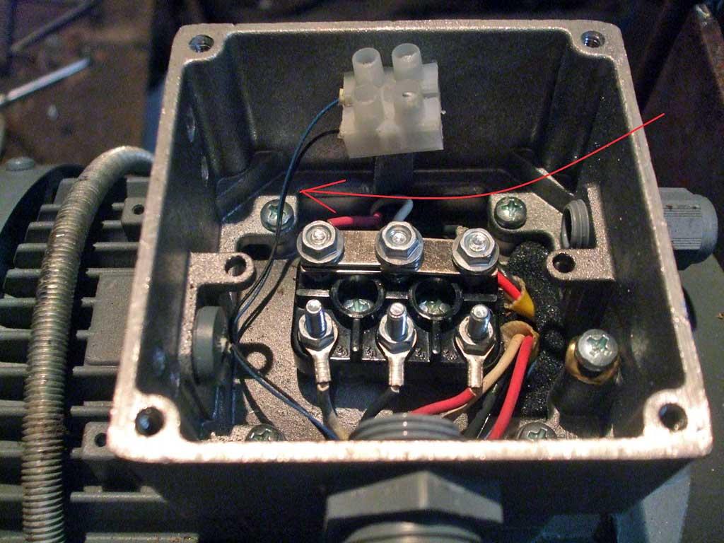 Schema branchement moteur electrique 380v