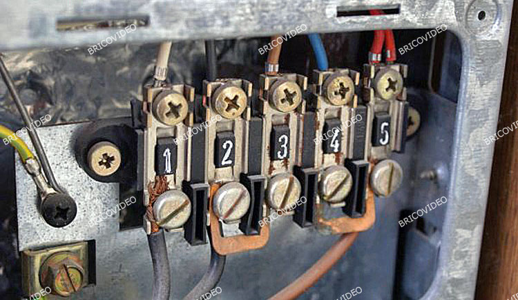 Schéma électrique gazinière