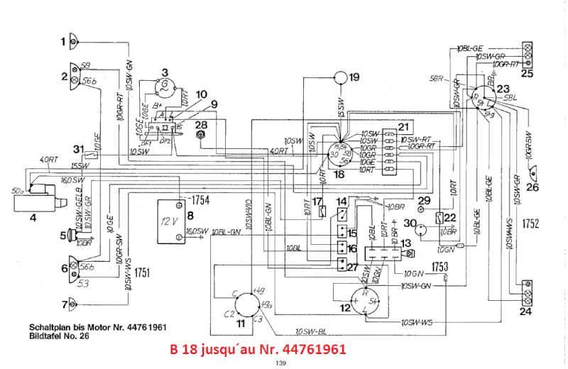 schema chariot elevateur electrique
