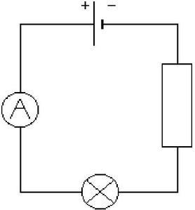 Resistance electrique schema