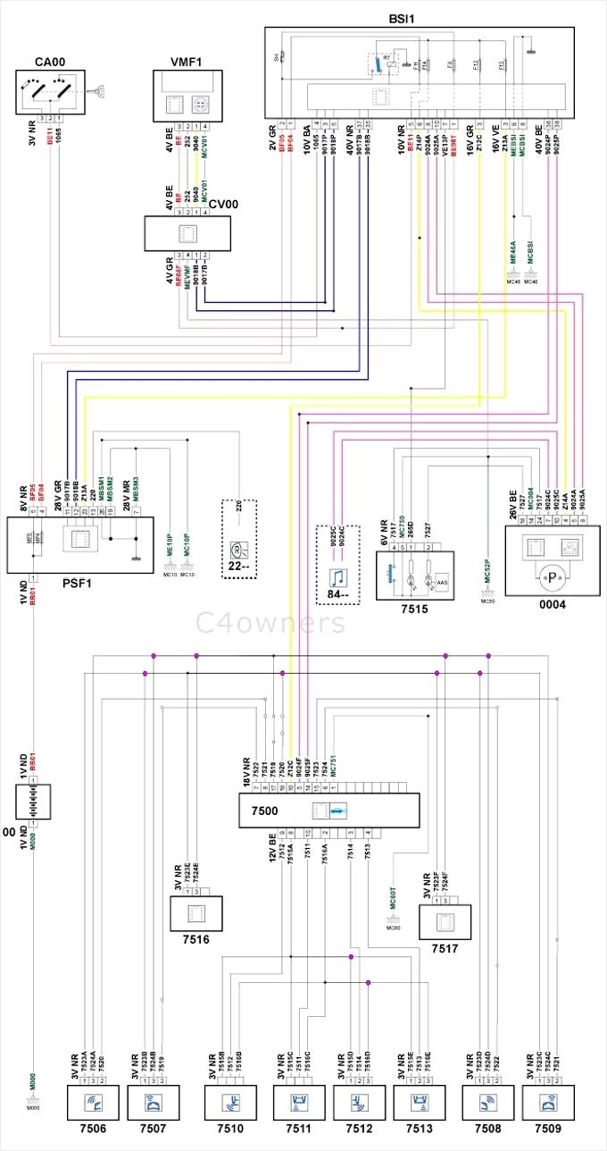 Schema Electrique Xu10j4rs