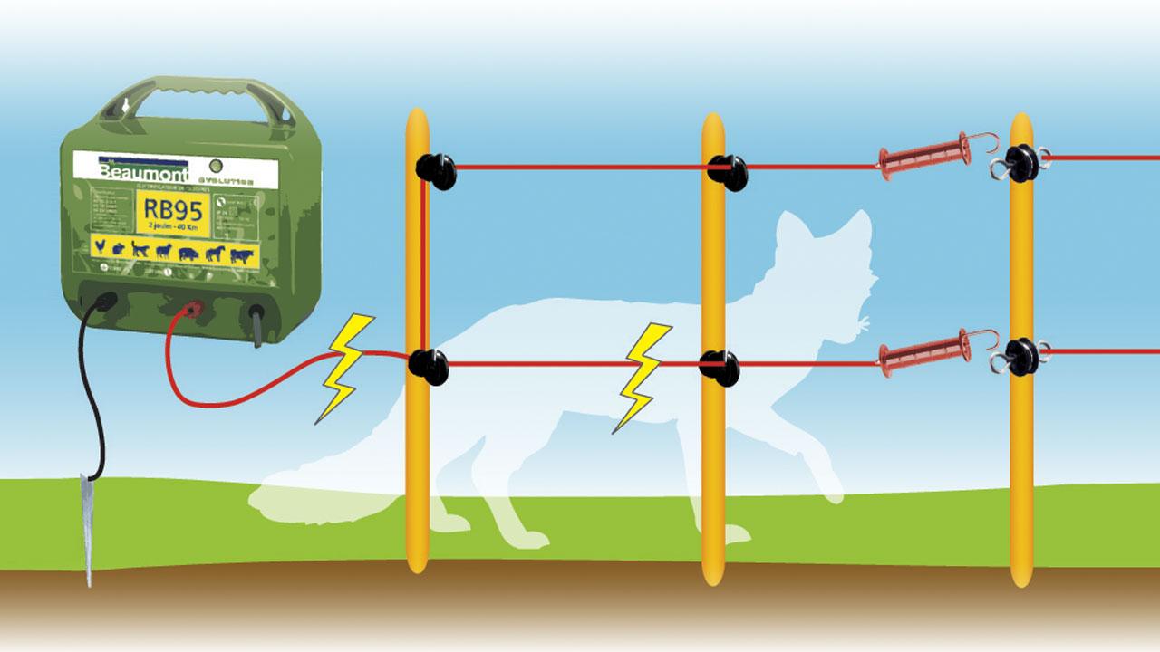Schema d une cloture electrique