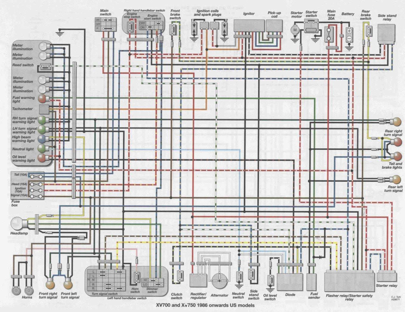 Schema Electrique Suzuki 1100 Gsxr