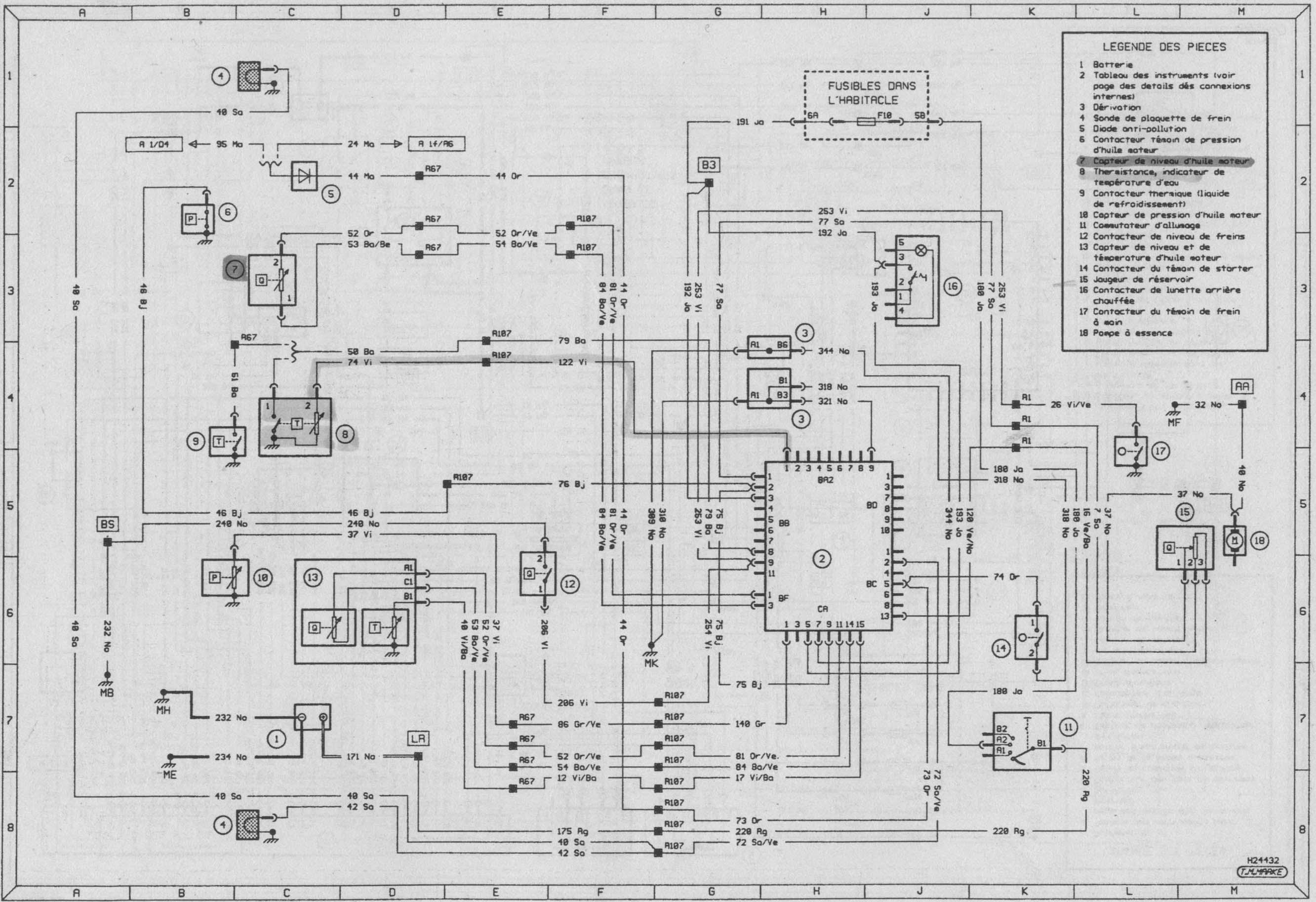 schema electrique moteur clio 2 rs