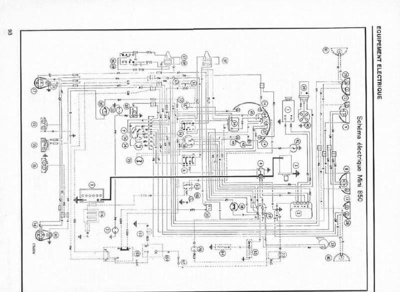 Schema electrique mini