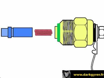 Schema electrique electrovanne pompe injection