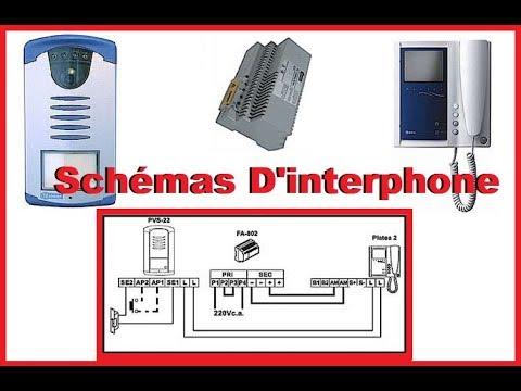 Schema electrique visiophone extel