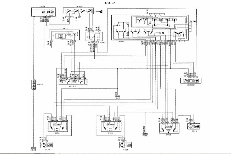 schema electrique 406 coup u00e9