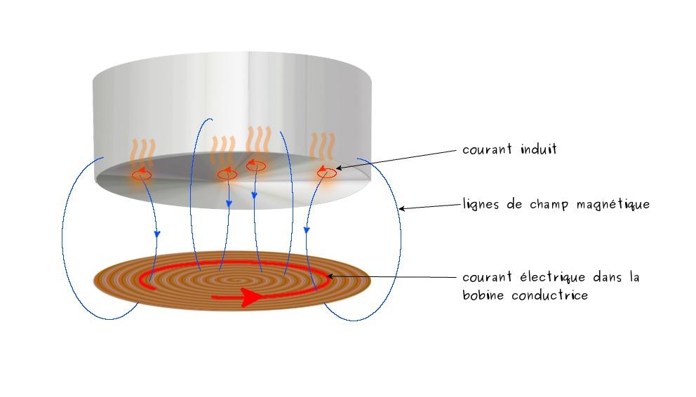 Schema electrique plaque à induction